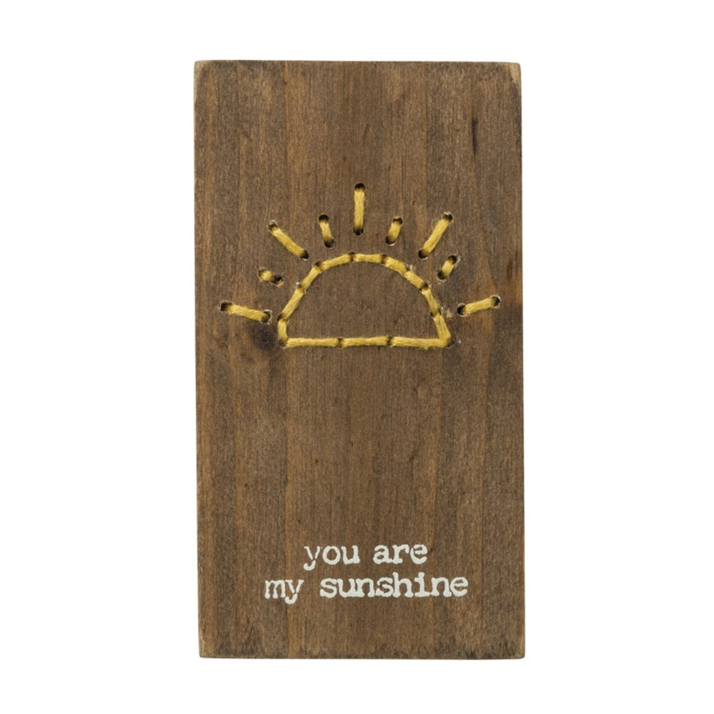 You Are My Sunshine Stitched Magnet