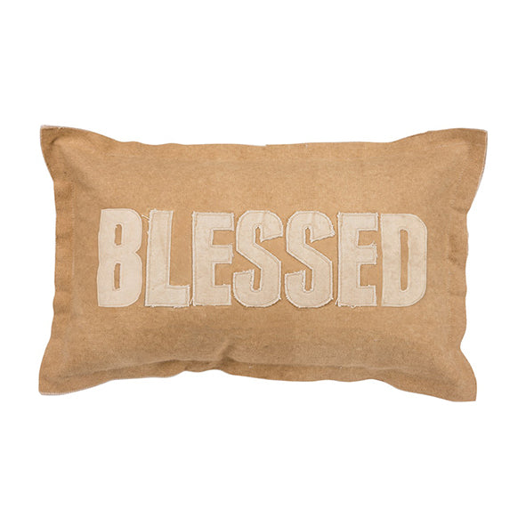Blessed Canvas Pillow