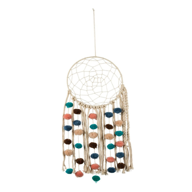 Dream Catcher With Poms - 19 Dollars Or Less