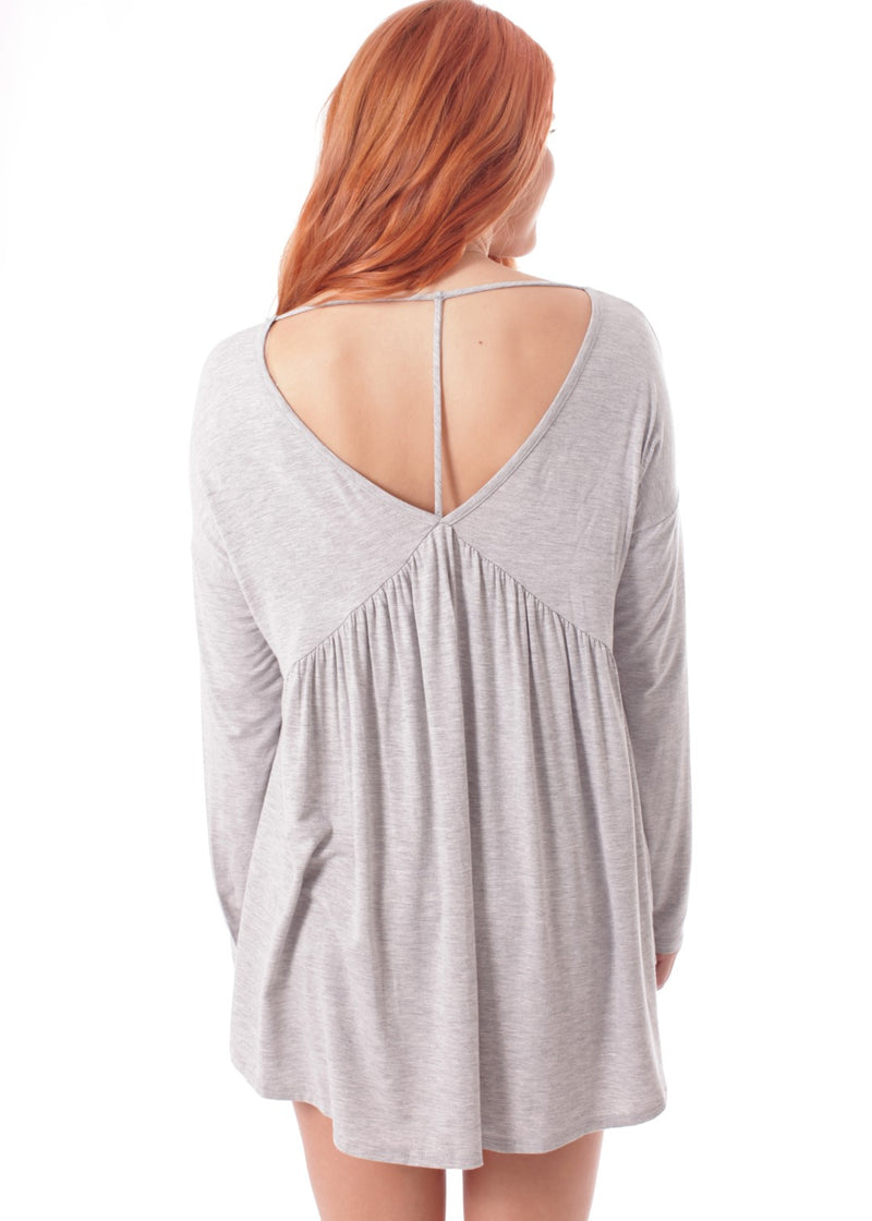 Babydoll Bamboo Fabric Top - 19 Dollars Or Less