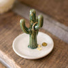 Ceramic Cactus Jewelry Holder - 19 Dollars Or Less