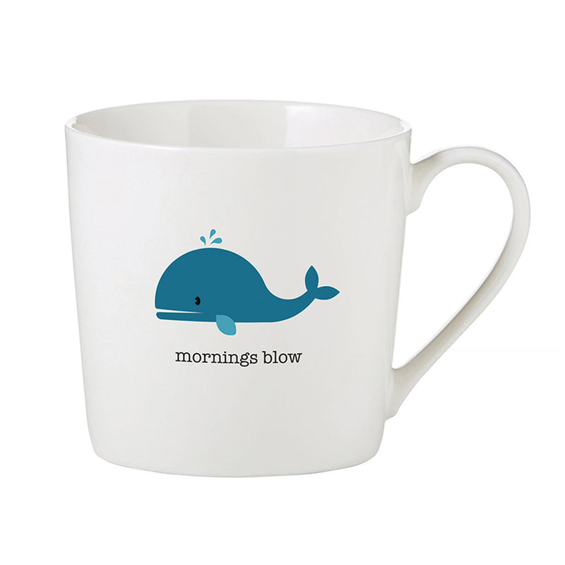 MORNINGS BLOW CAFÉ MUG