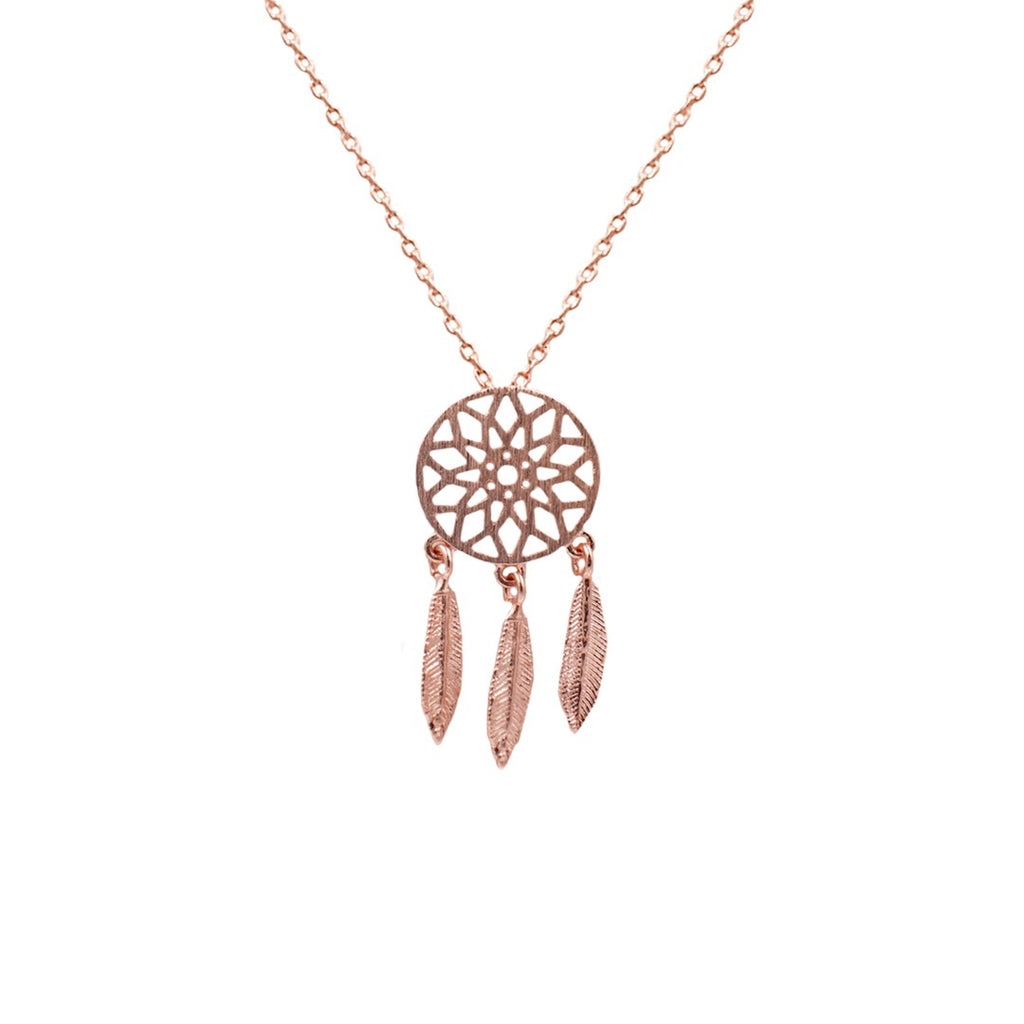 Dream Catcher Necklace - 19 Dollars Or Less