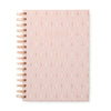 "Copper Geo | Pink ""Notebook"" - 19 Dollars Or Less"