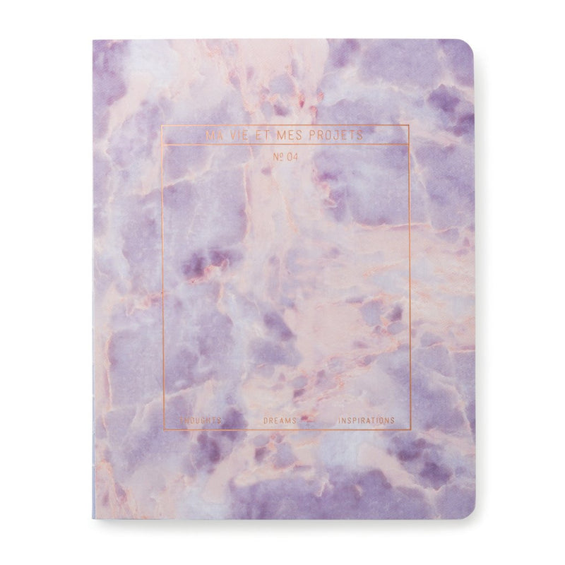 Stone | Amethyst Notebook