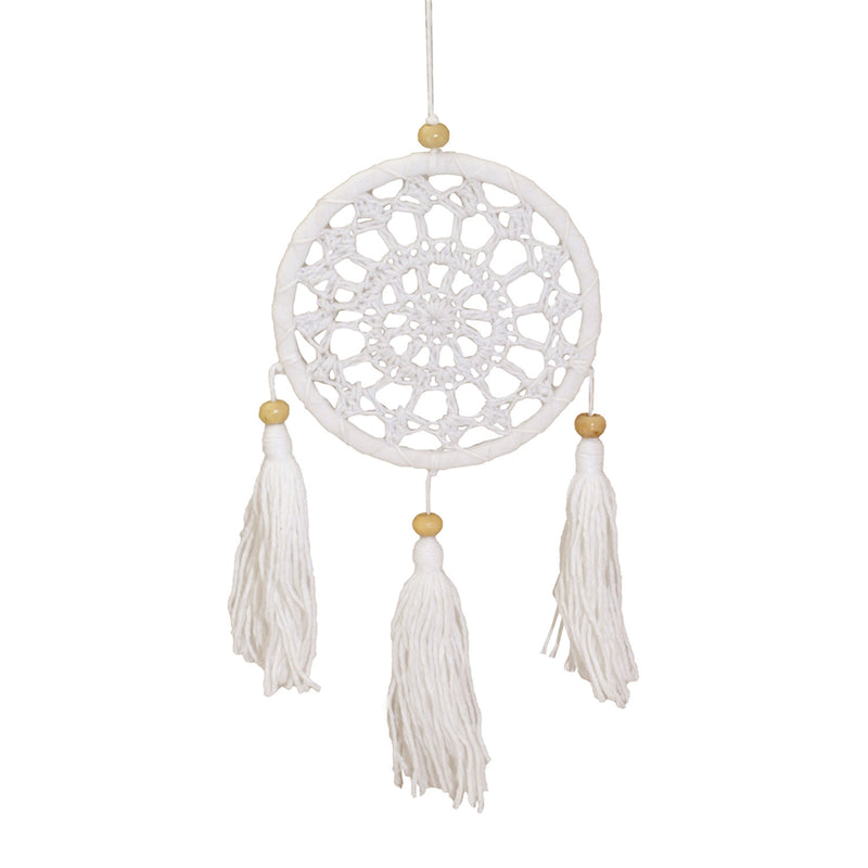 Snowflake Tassel Mini Dream Catcher