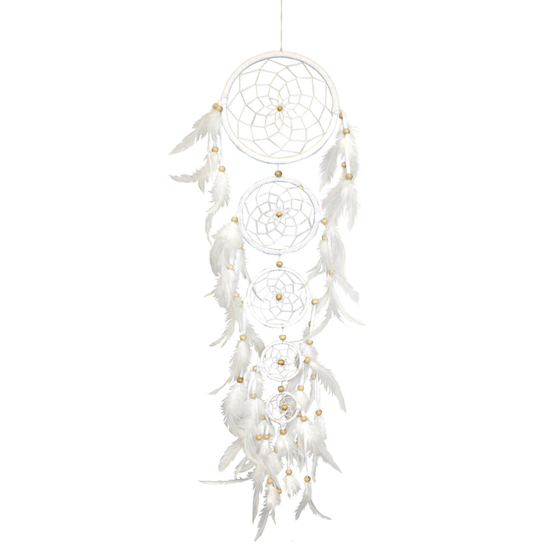 Five Snow Beauty Dream Catcher - 19 Dollars Or Less