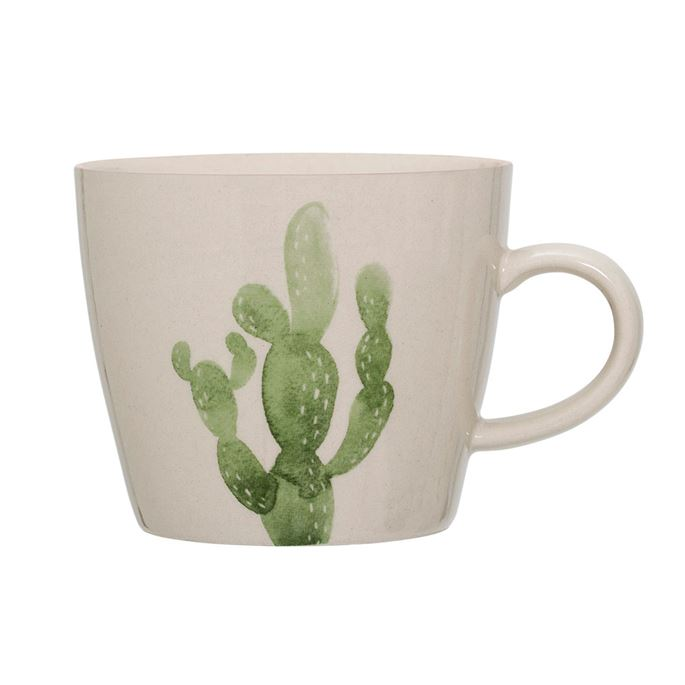 Mug With Cactus Print