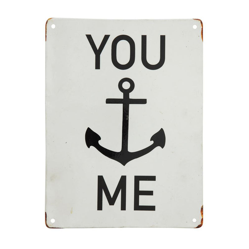 You…Me Metal Wall Decor