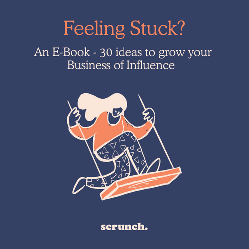 Feeling stuck? 30 ideas to grow your Business of Influence eBook