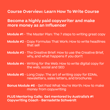 Load image into Gallery viewer, The Deluxe Copywriting Course Package - 3 courses!