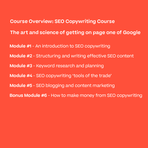 The SEO Copywriting Course