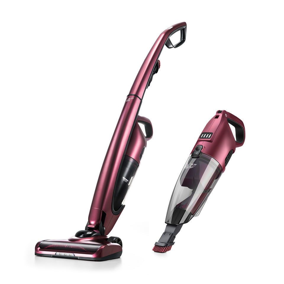 PUPPYOO WP511 Cordless Upright Vacuum Cleaner for Carpet Hard Floor Pet Hair