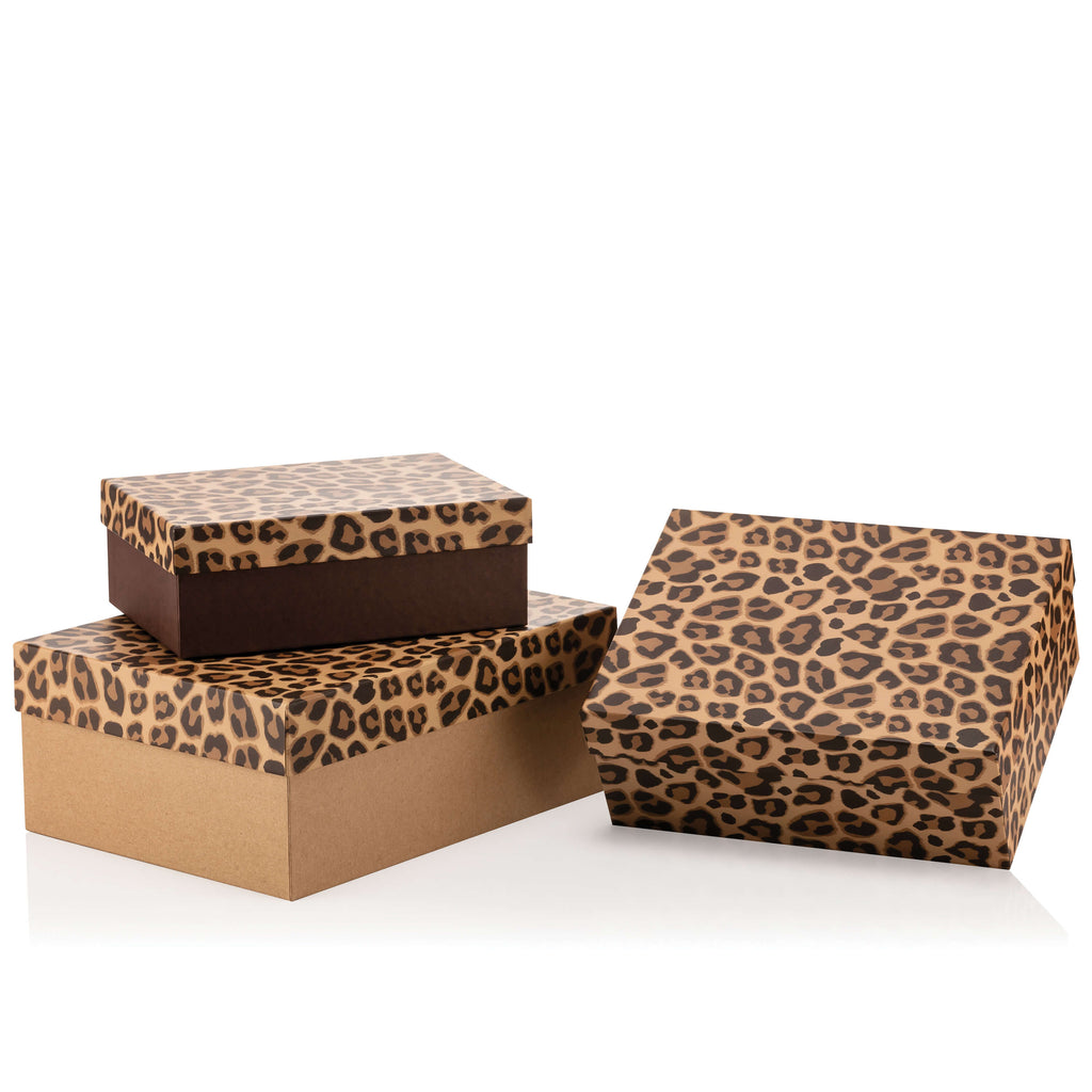 Animal Collection Rectangular Leopard