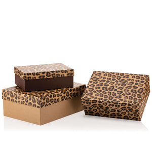 Leopard Rectangular Box