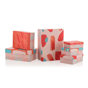 Living Coral Rectangular Box