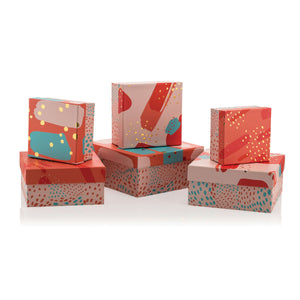 Living Coral Square Box