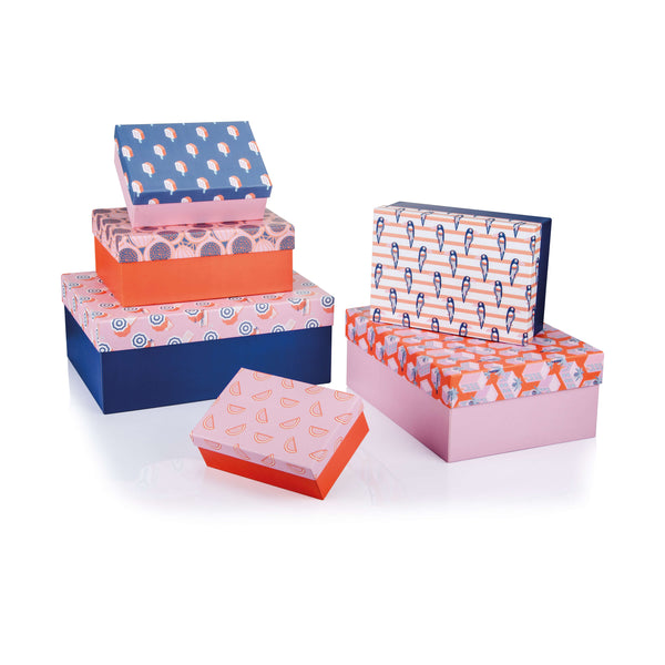 Summer Rectangular Box