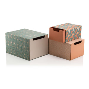Tile Mild Set of 3 Drawer Gift Boxes