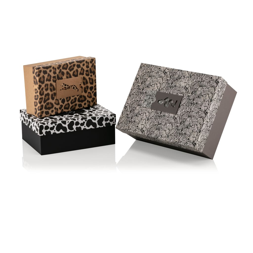 Animal Collection Rectangular - 3 Piece - Gift Box