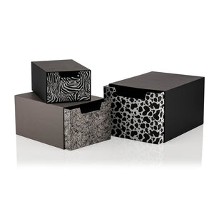 Animal Collection Set of 3 Drawer Gift Boxes - 3 Piece - Gift Box