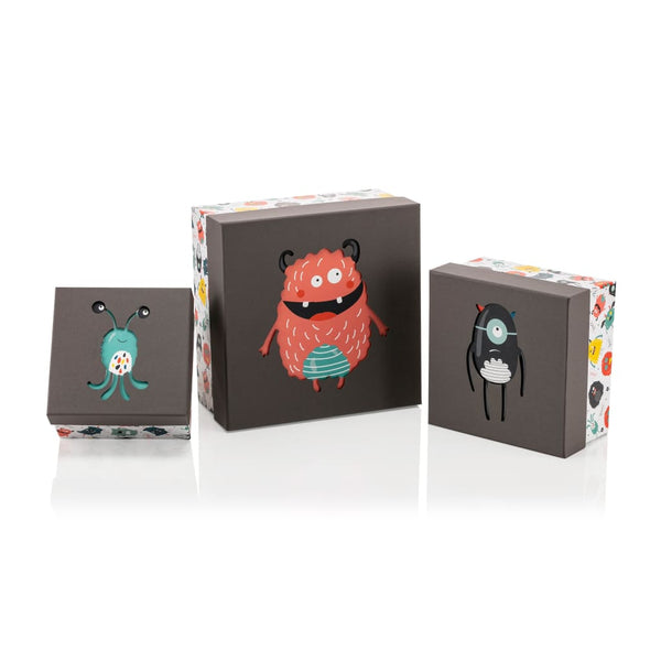 Monster Square Diecut  Box