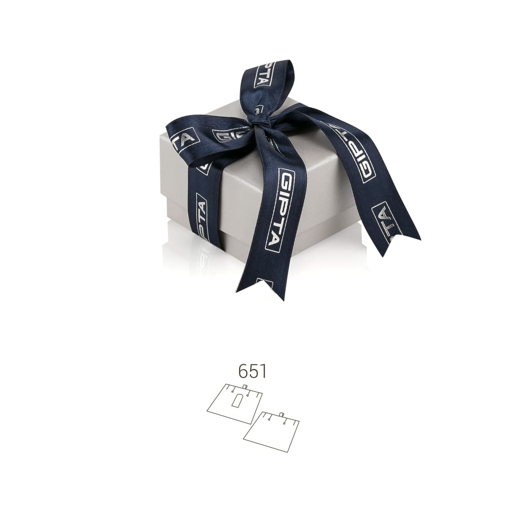 Quantum High Earring - Navy / 651 - Jewelry Box