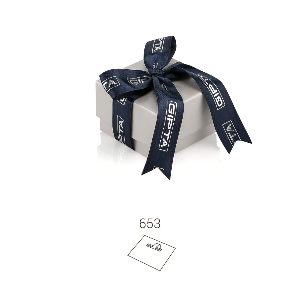 Quantum High Earring - Navy / 653 - Jewelry Box