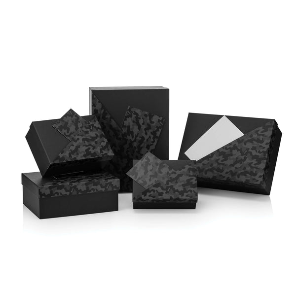 Black Camouflage Cavita Rectangular Box