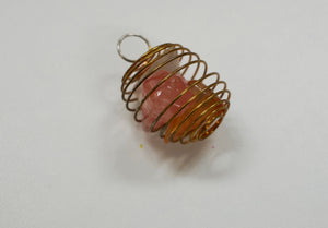 Triple Pendulum Cage Wire Wrap