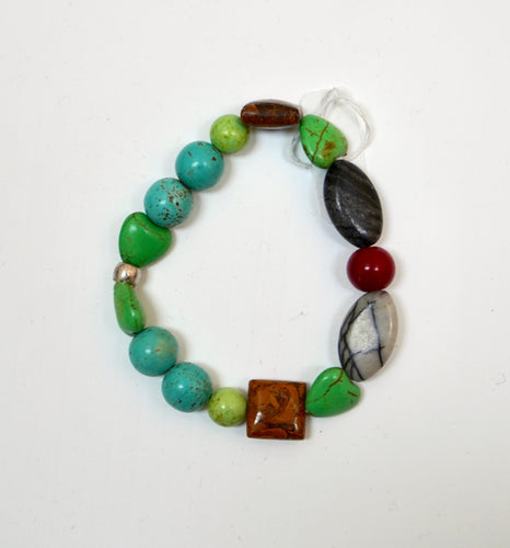 Earth Colors Bead Bracelet