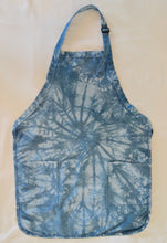 Load image into Gallery viewer, Apron-  Indigo Dyed