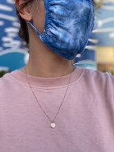 Load image into Gallery viewer, Indigo tie-dye Face Mask