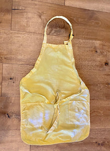 Apron-  Turmeric and Marigold Dyed