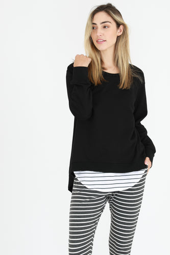 3RD STORY PLUS SIZE NEWHAVEN JUMPER - BASIC STATE NEWHAVEN PLUS SIZE - 3RD STORY AUSTRALIAN STOCKIST