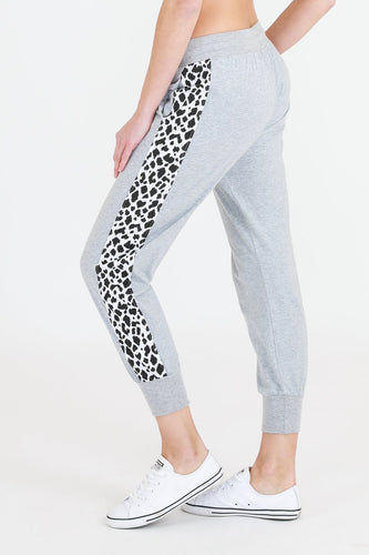 Leopard Stripe Joggers || 3rd Story the Label