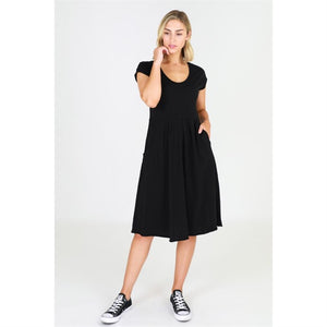 Evelyn Dress 3rd Story - Basic State Cotton Dress Plus Size Dress XXL Ladies Dress XXXL Ladies clothing