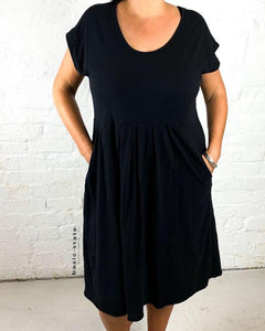 3rd Story Plus Size Evelyn Dress Curve Dress Basic State Black plus size dress