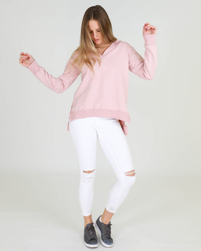 3rd Story jumper hoodie Blush Pink Brentwood Basic State Loose Fit Relaxed Fit Sweater Basic State