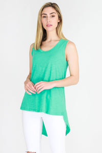3rd Story The Label Madison Tank Marine Green Bright Green Basic State
