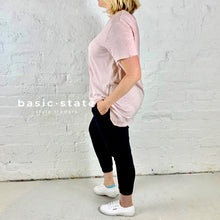 3rd Story Plus Size Basic tee 3rd Story Thornton Tee Basic State Blush tee