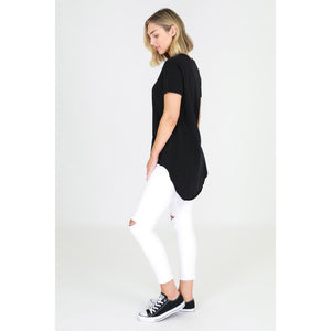 3rd Story Sorrento Tee Tail hem tee Basic State Longer back Tee