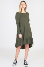 3rd Story The Label Stacey Dress || Available in Khaki, Indigo & Black