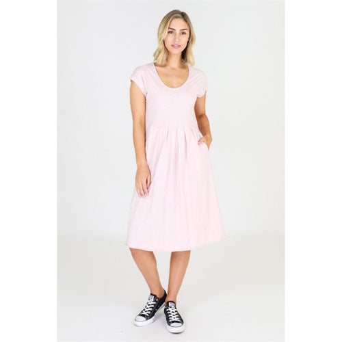 3rd Story Evelyn Dress - Blush Marle - Basic State