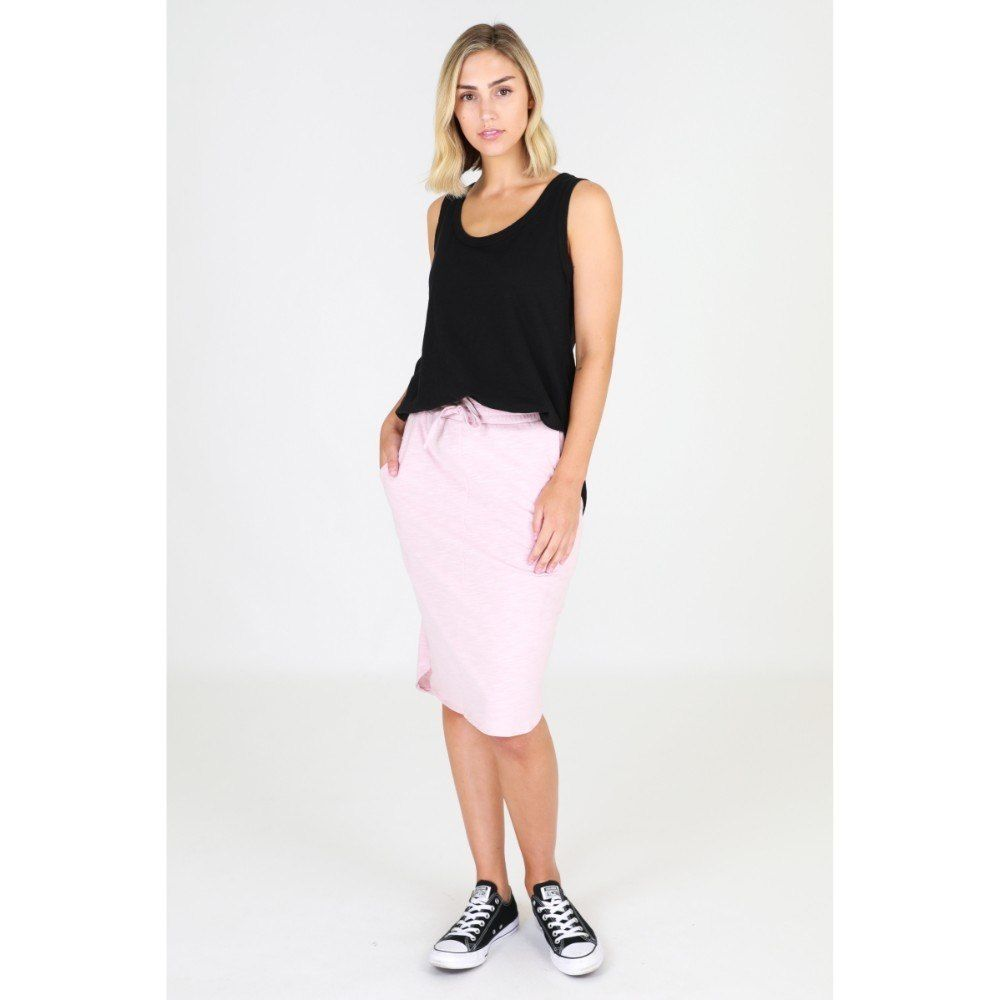 3rd Story Olivia Skirt Blush skirt, Olivia Knee Length skirt Basic state