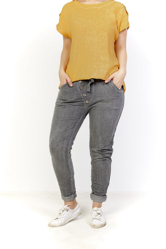 Alergia Amici Pull on Pants - Italian Pants - Amici made in Italy - Basic State Australia