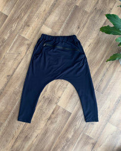 Amici made in Italy || Slouch Pant - Dark Navy