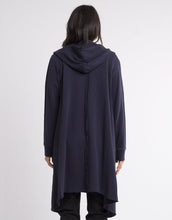 Naomi Cardigan Navy Foxwood Naomi Cardi Elm Long Cardigan Basic State Elm Foxwood Stockist