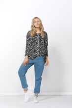 Betty Basics Atlanta Leopard Print Top Betty Basics Atlanta 3/4 sleeve Top Long Basic State