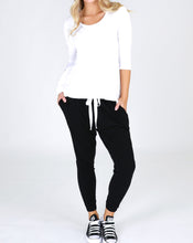 3rd story Plus Size third story slouch pants bondi lounge pants drop crotch basic state
